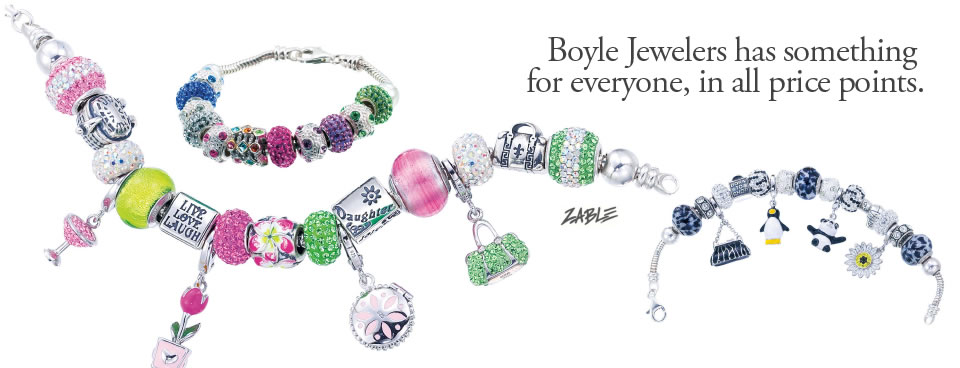 Boyle Jewelers has something for everyone, in all price points.